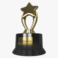 star trophy 3D models