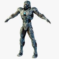 cyborg 3D models