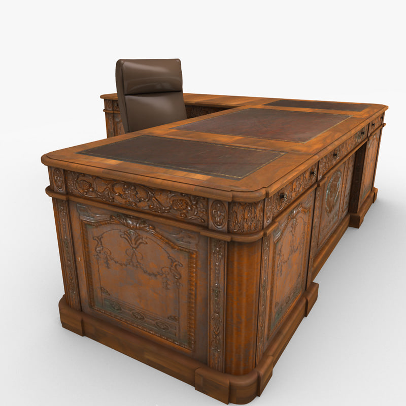 Antique Wooden Office Desk Www Imgkid Com The Image