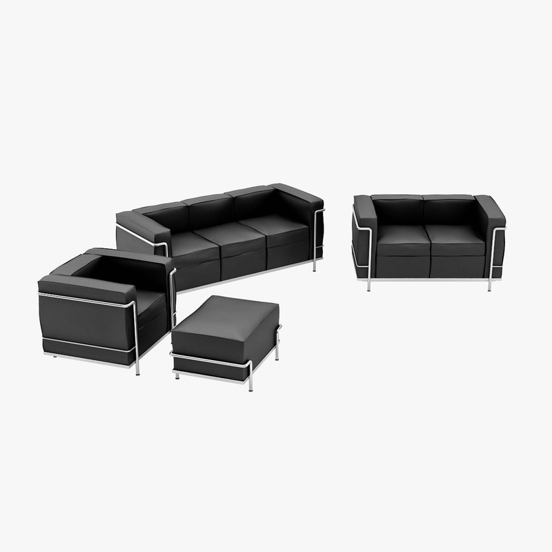 Le Corbusier LC2 Seating Pack