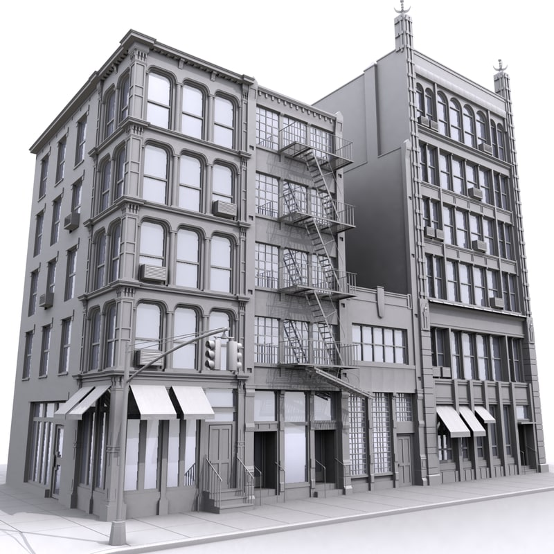 New York City Apartment Buildings: Model House, Models And Maya On Pinterest