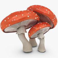 mushroom 3d models