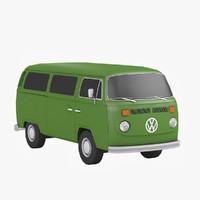 minibus 3D models