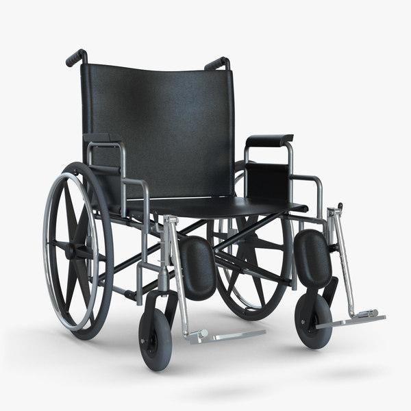 WheelChair 3D Models
