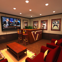 Home Bar 3D models