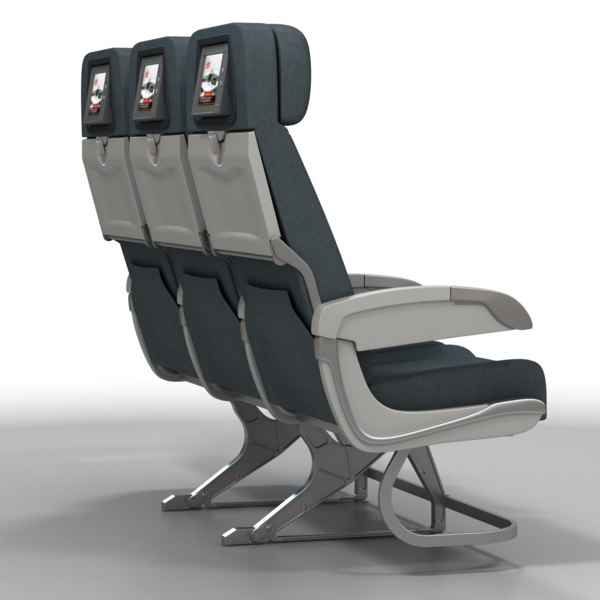 Airplane Chairs 3D Models