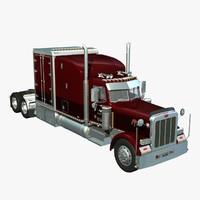 Peterbilt 389 3D models