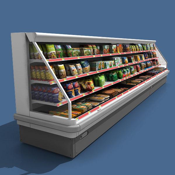 Refrigerator Filled 3D Models