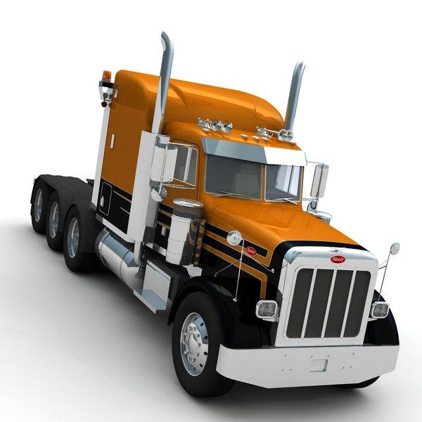Peterbilt 357 Heavy Haul 3D Models