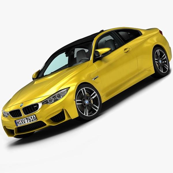 2015 BMW M4 3D Models