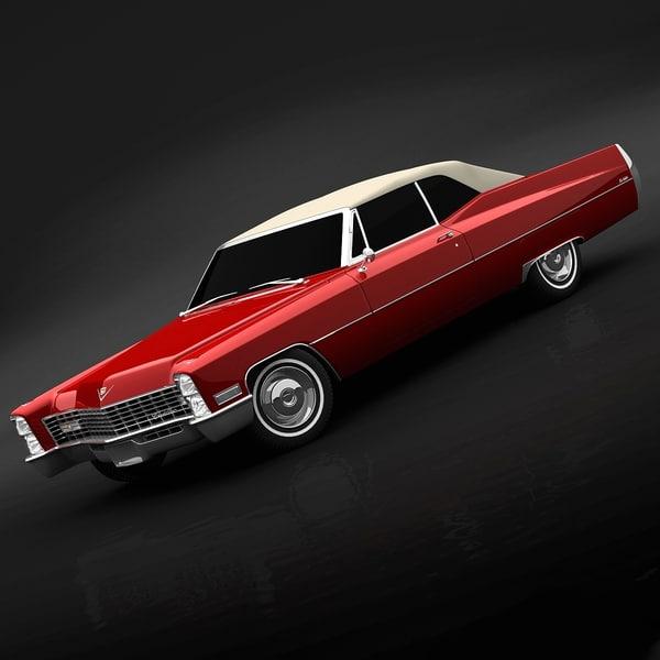 Cadillac DeVille 1967 3D Models