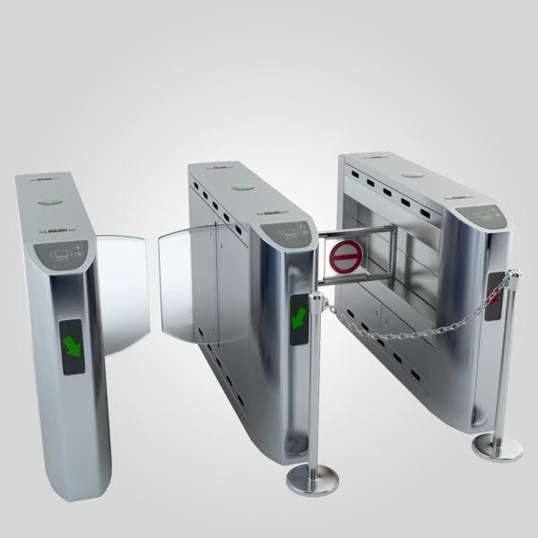 Intelligent Flap Gate 3D Models