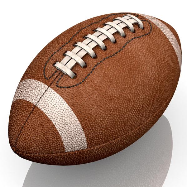 Football 3D Models