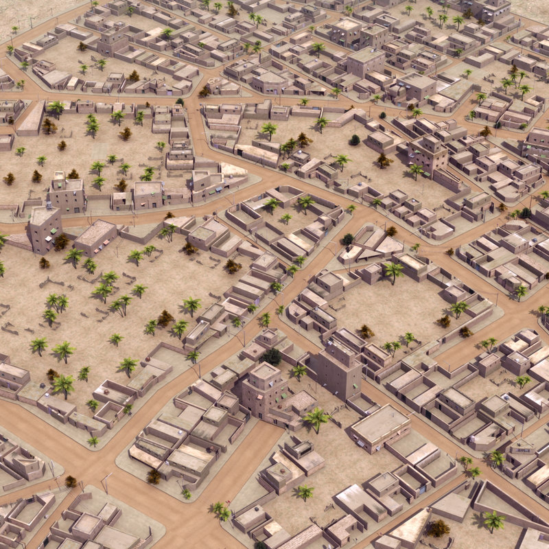 Arab City Suburb St01 LW