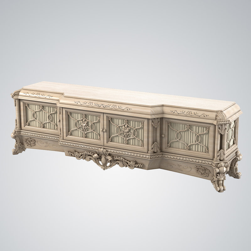 b Riva mobili emozioni 7478 baroque carved rococo glamour sideboard tv holder chest of dawers.jpg