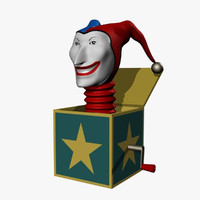 Jack-in-the-Box 3D models