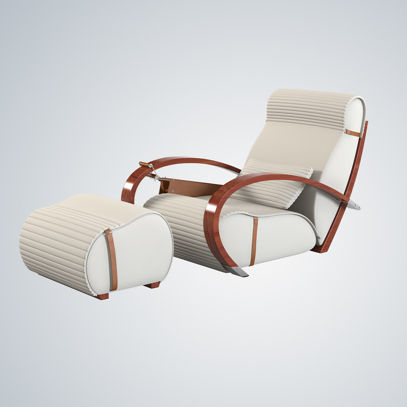 b Tresserra Casablanca armchair and foot-rest modern contemporary art deco  chair relax chaise lounge.jpg