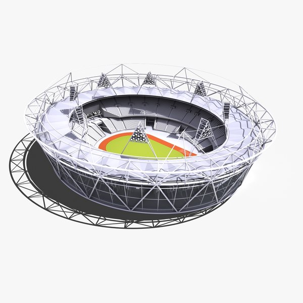London Olympic Stadium 3D Models