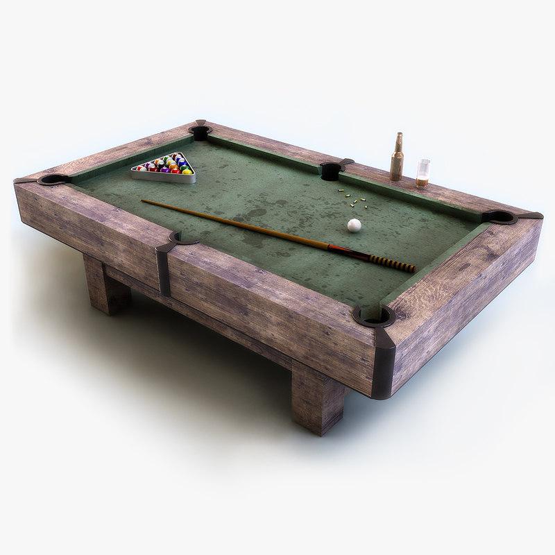 Old Billiard Table