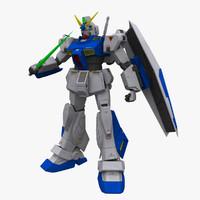 gundam 3D models