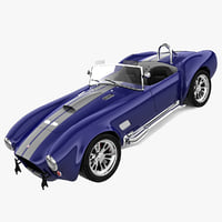 Cobra 427 3D models