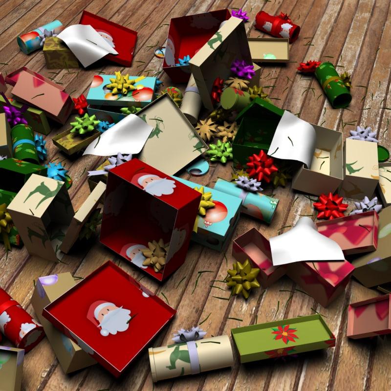 Christmas Morning Mess