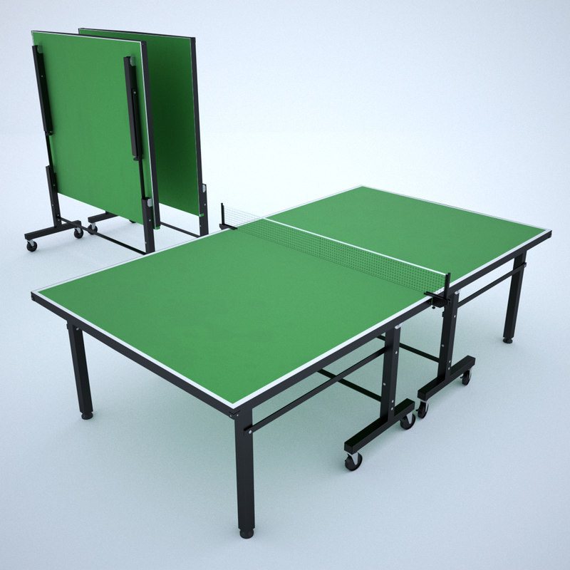 3ds Max Ping Pong Table
