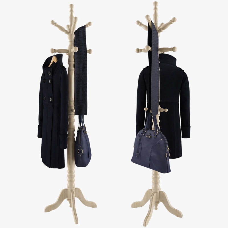 Rack With Coat, Bag and Scarf Blue.jpg