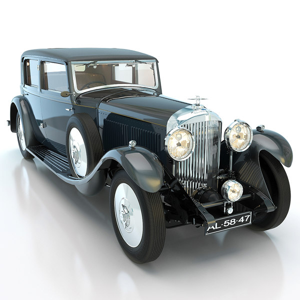 Bentley 8 Litre 1931 Without Engine 3D Models