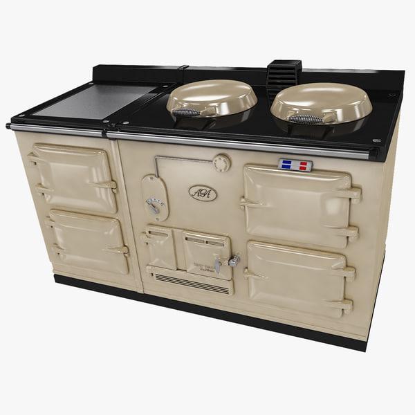 AGA Classic 4 Oven 3D Models