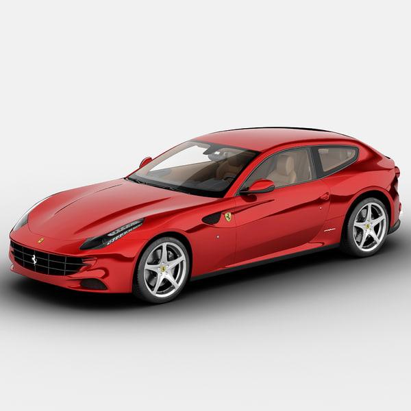 Ferrari FF 4-Seater 2013 3D Models