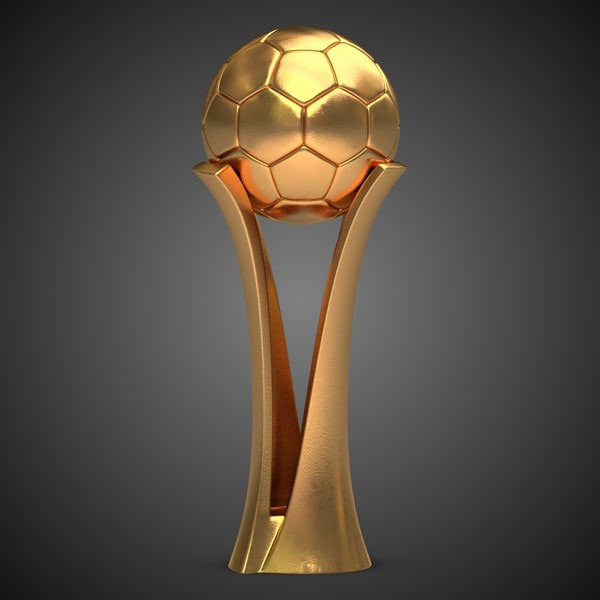 Football Award Cup 3D Models