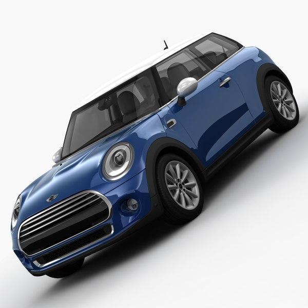 MINI Cooper D Hardtop 2015 3D Models