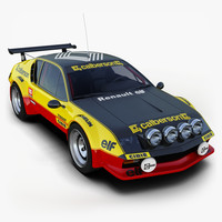rally car 3d models