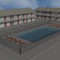 Motel 3D models
