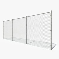 Chain Link Fence 3D models