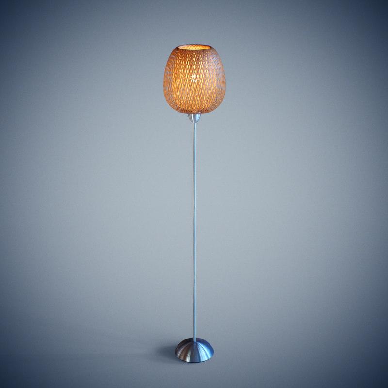 B 214 Ja Floor Lamp Ikea 3d Max