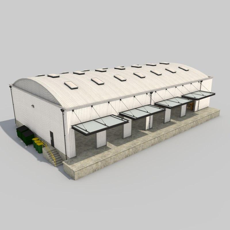 3d Model Warehouse Truss Loading