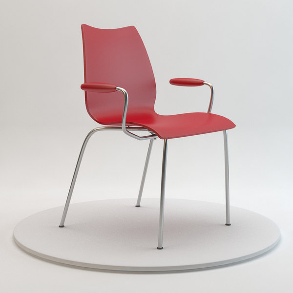 Kartell Maui Chair 3D Models