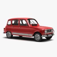 Renault 4 3D models