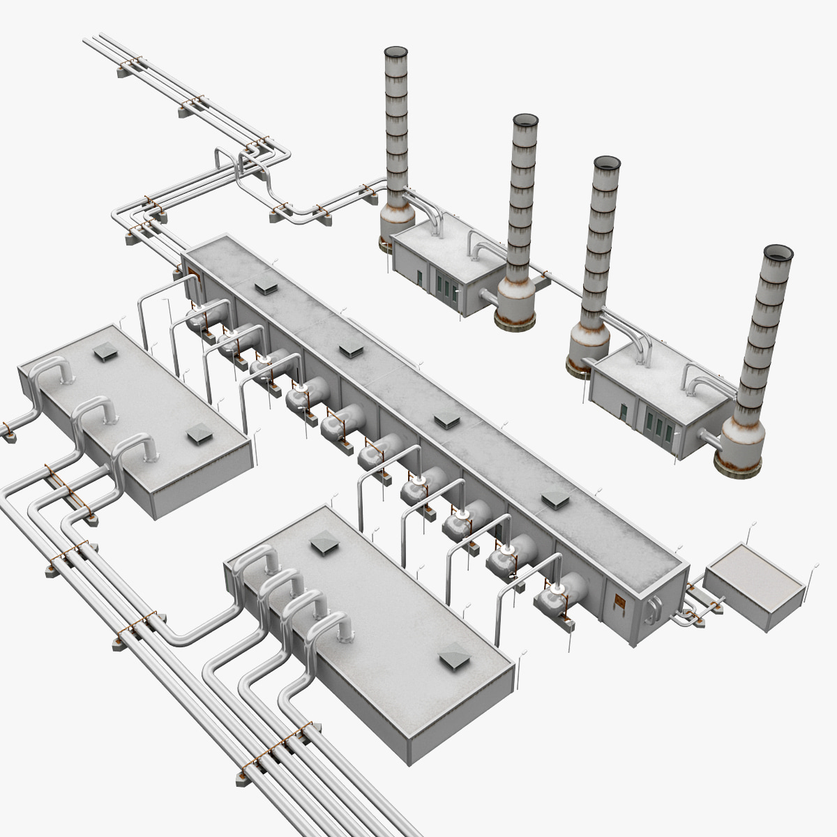Geothermal Power Plant Model Geothermal Power Plant by