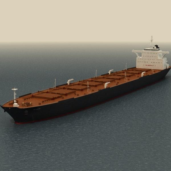 Oil Tanker Ship (VLCC - Very Large Crude Carrier) 3D Models