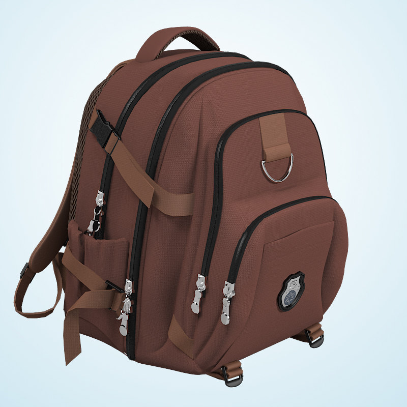 b Rucksack school bag touristic traveling picknick backpack camping children man cloth0002.jpg