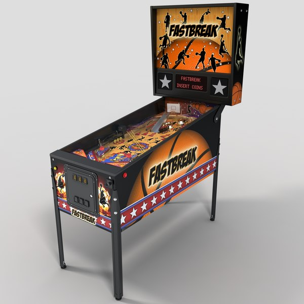 Pinball Machine 1 3D Models