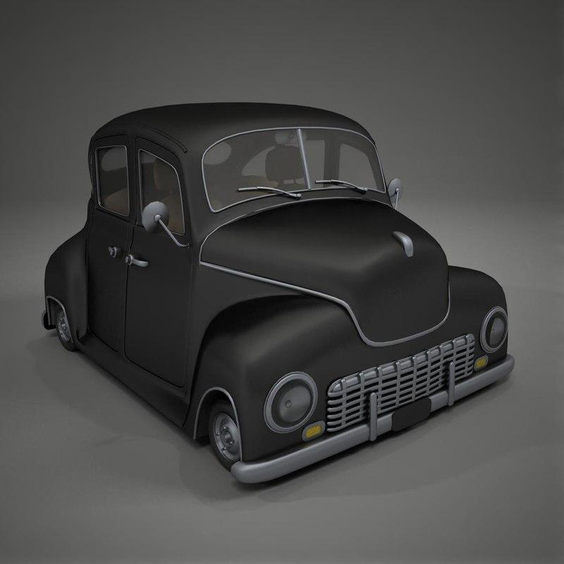 Classic Car 3d Model Free 28 Images Gaz 21 Russian Classic Car