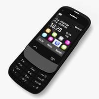 Nokia c2-06 3D models
