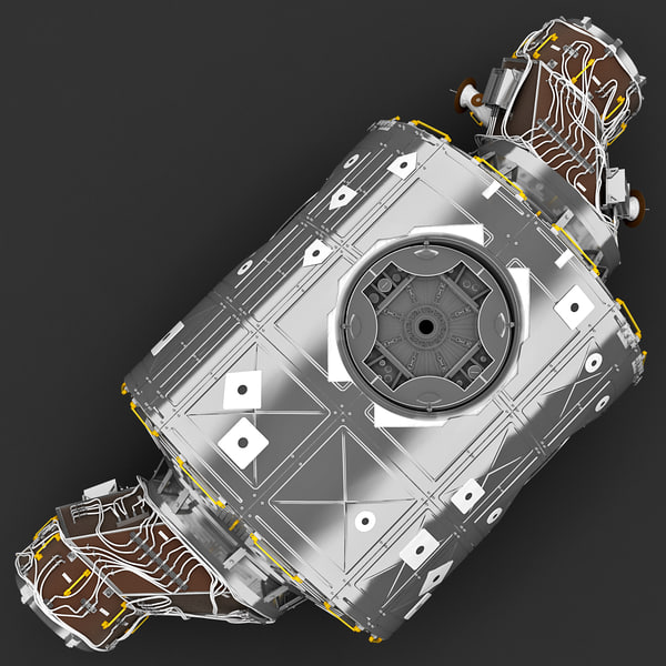 International Space Station Unity 3D Models
