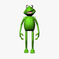 kermit the frog 3D models