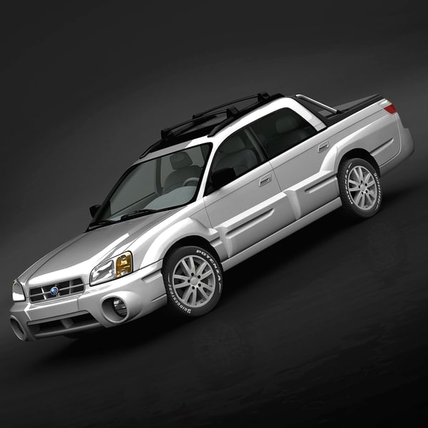 Subaru Baja 2005 3D Models