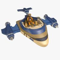 speeder 3D models